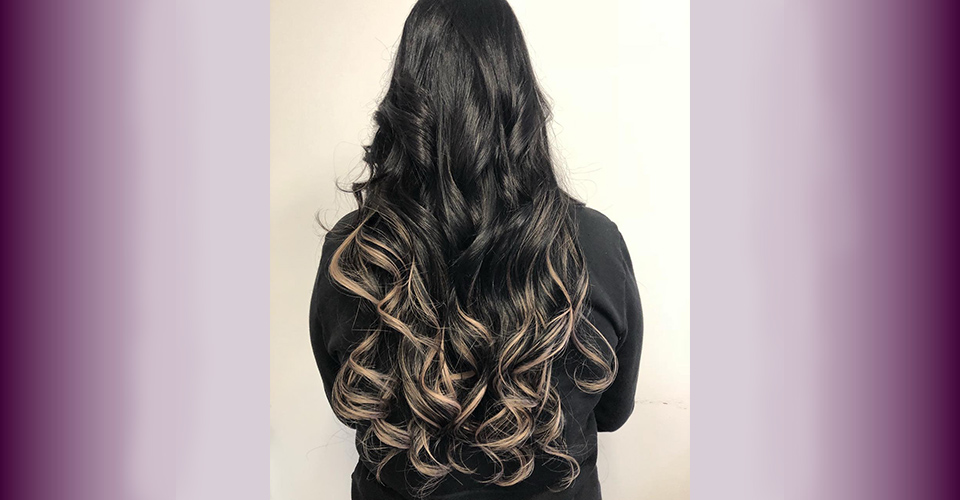 Hair extension gallery